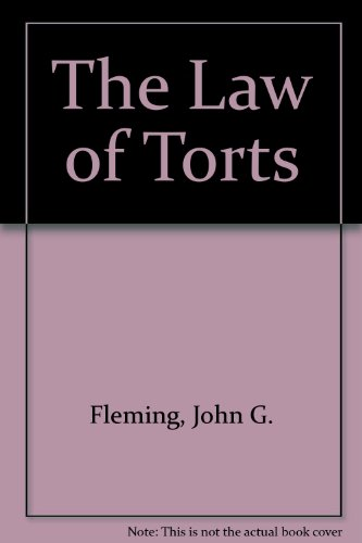 9780455211411: The Law of Torts