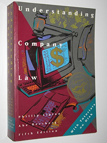 Understanding Company Law: With Computer Tutorials: Phillip Lipton; Abe