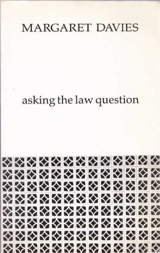 9780455212425: Asking the Law Question