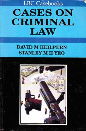 9780455212869: Cases on Criminal Law