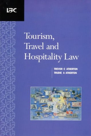 9780455215235: Tourism, Travel and Hospitality Law