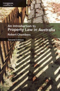 9780455216928: Introduction to Property Law in Australia