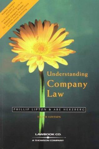 9780455217567: Understanding Company Law
