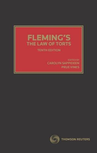 Fleming's The Law of Torts (Hardcover): Carolyn Sappideen