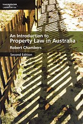 9780455223209: Introduction to Property Law in Australia, Second Edition