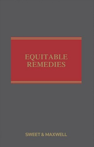 9780455232881: Equitable Remedies