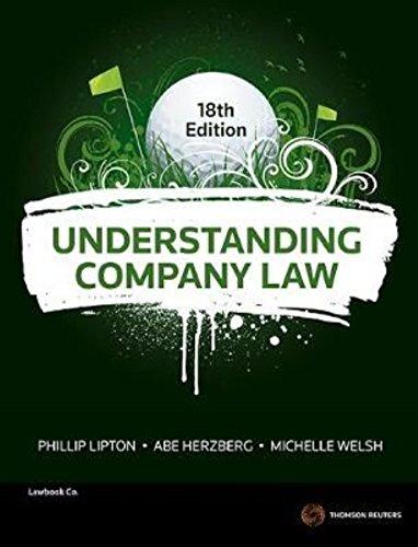 Understanding Company Law (Paperback): Phillip Lipton