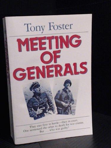 9780458814503: Meeting of Generals