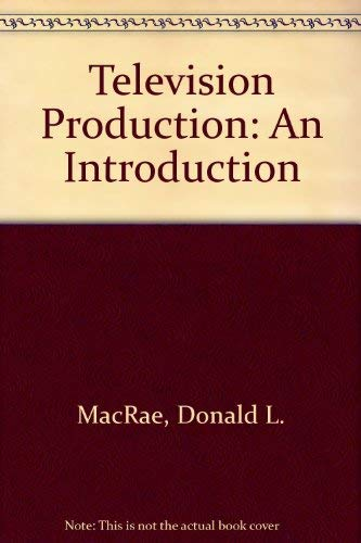 9780458910205: Television production: An introduction