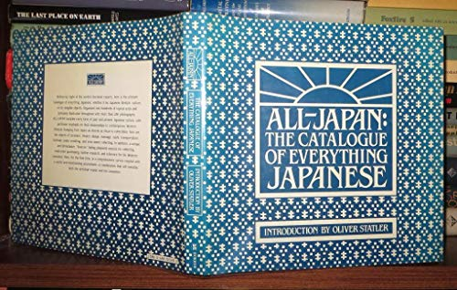 9780458979905: All-Japan : The Catalogue of Everything Japanese