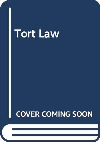 Tort Law: Lewis Klar