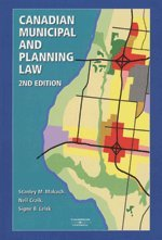 9780459241353: Canadian Municipal and Planning Law