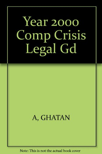 9780459260118: Year 2000 Computer Crisis Legal Guide