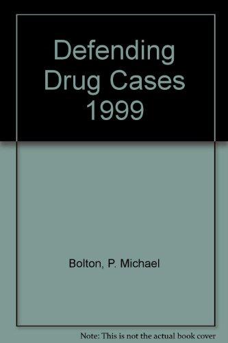 9780459271855: Defending Drug Cases 1999