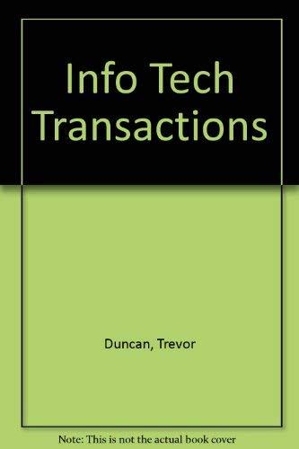 Info Tech Transactions: Duncan