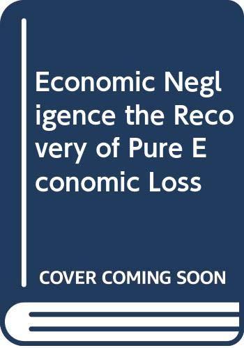 9780459327415: Feldthusen Econ Negligence Ed2