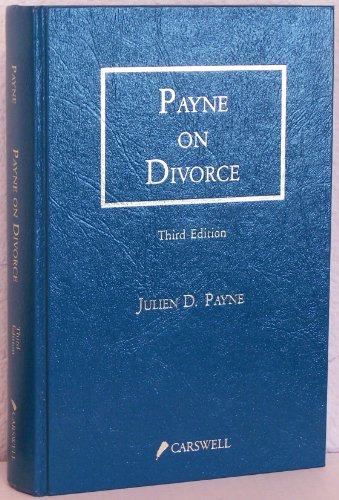 9780459551995: Payne on divorce