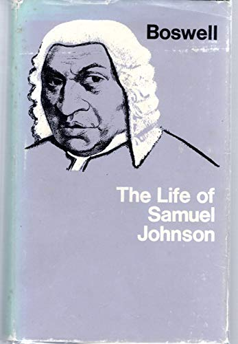 9780460000017: The Life of Samuel Johnson: Two Volumes in One (Everyman's Library)