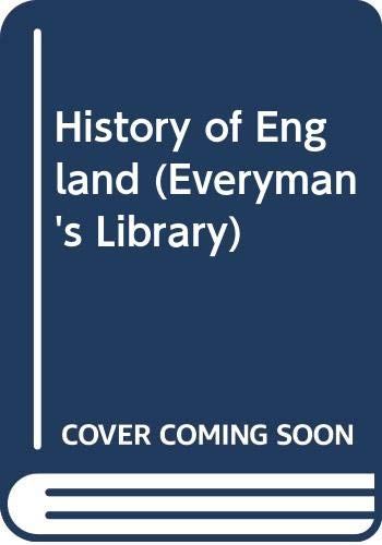 9780460000376: 4: History of England (Everyman's Library)