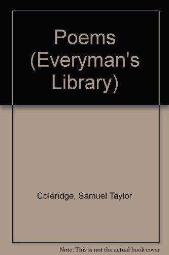 9780460000437: Coleridge: Poems (Everyman's Library)