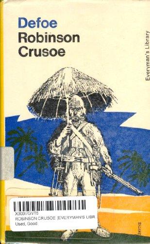 9780460000598: Robinson Crusoe (Everyman's Library)