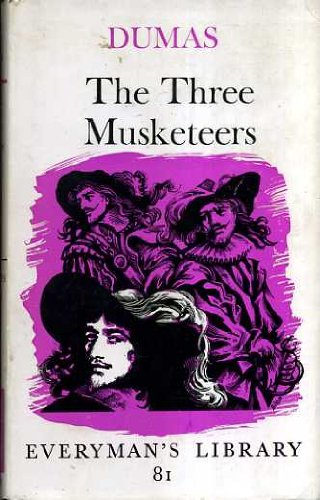 9780460000819: The Three Musketeers (Everyman's Library)