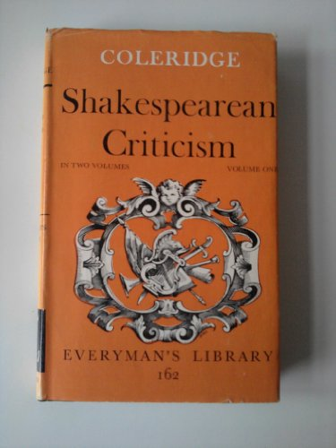 Shakespearean Criticism (Everyman's Library) (9780460001625) by Samuel Taylor Coleridge
