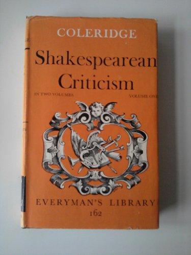 Shakespearean Criticism (9780460001625) by Samuel Taylor Coleridge