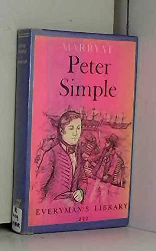 9780460002325: Peter simple (Everyman's Library)