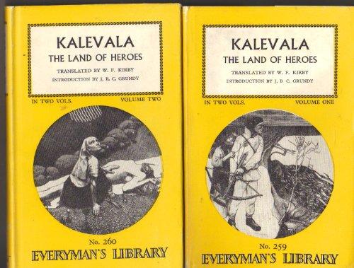 9780460002592: Kalevala: Volumes 1 and 2 (Everyman's Library)