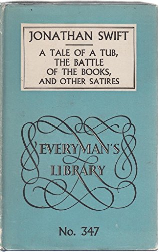 9780460003476: Tale of a Tub (Everyman's Library)