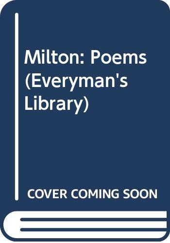 9780460003841: Milton: Poems (Everyman's Library)