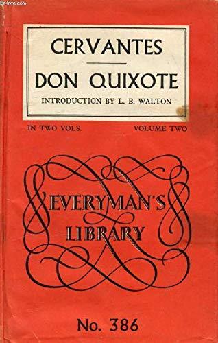 9780460003865: Don Quixote: Volume 2