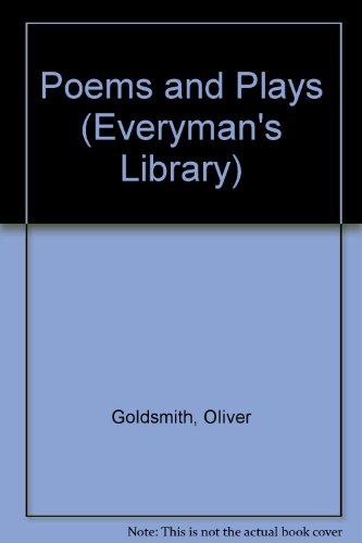 9780460004152: Poems and Plays (Everyman's Library)