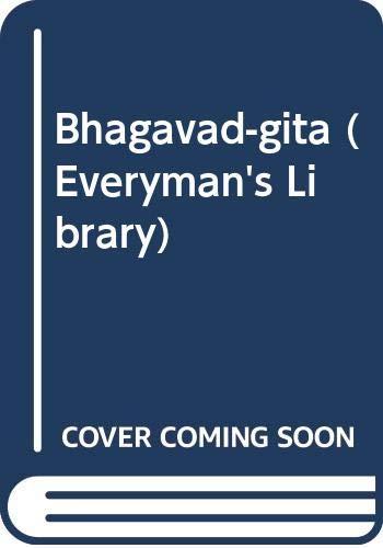 9780460004954: Bhagavad-gita (Everyman's Library)