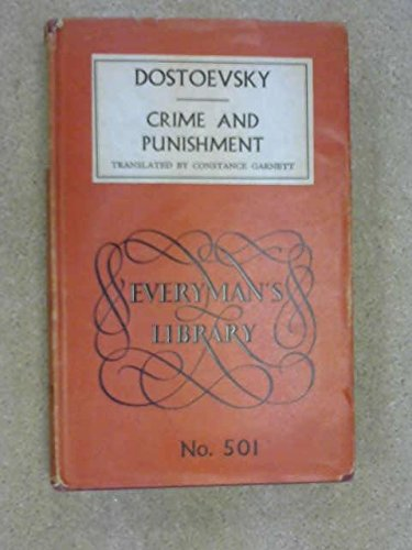 Crime and Punishment (Everyman's Library): Dostoyevsky, Fyodor