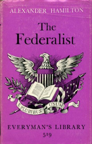 9780460005197: The Federalist Papers (Everyman's Library)