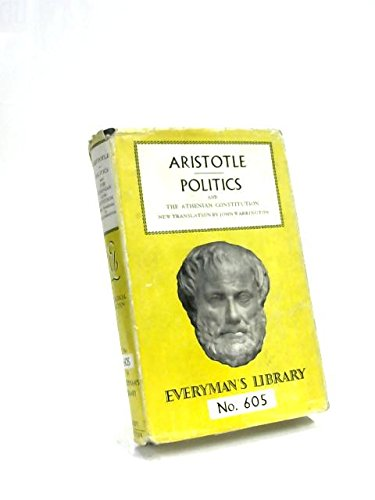 Politics (Everyman's Library): Aristotle