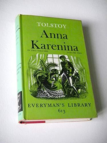 Anna Karenina: v. 2 (Everyman's Library): Tolstoy, Leo