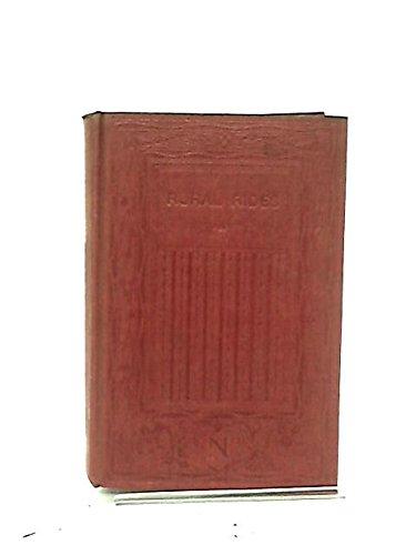 Rural Rides: Volume 1 (Everyman's Library) (Volume: William Cobbett