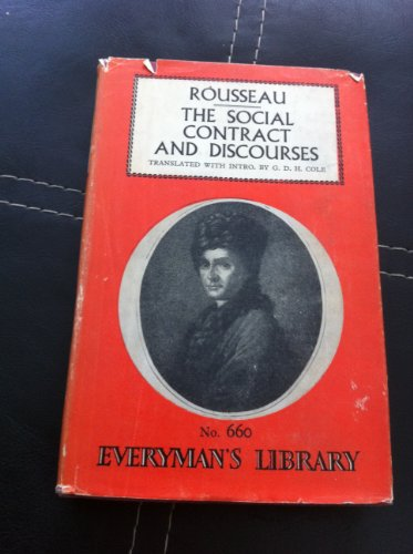 Social Contract (Everyman's Library): Rousseau, Jean-Jacques