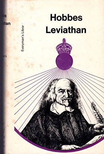 9780460006910: Leviathan (Everyman's Library)