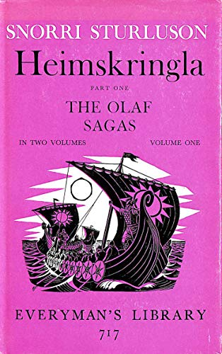9780460007177: Heimskringla: Olaf Sagas Pt.1 (Everyman's Library)