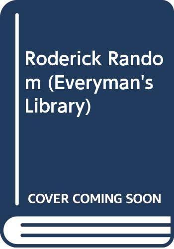 9780460007900: Roderick Random (Everyman's Library)