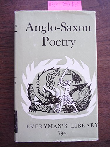 9780460007948: Anglo-Saxon Poetry (Everyman's Library)