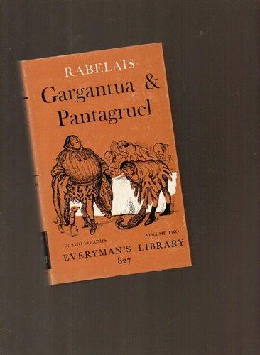Gargantua and Pantagruel: v. 1 (Everyman's Library) (9780460008266) by [???]