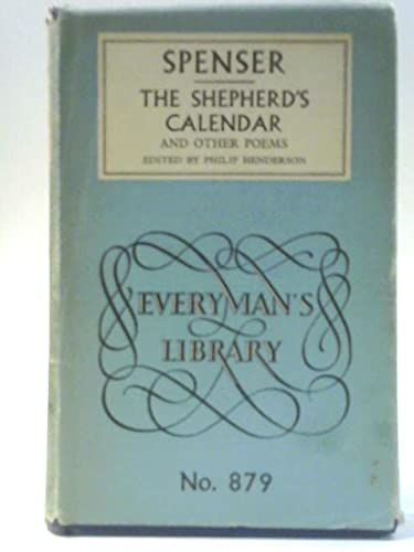 9780460008792: The Shepherd's Calendar (Everyman's Library)
