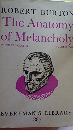 9780460008877: Anatomy of Melancholy: v. 2 (Everyman's Library)
