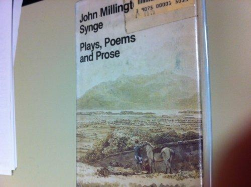 J.M. Synge's Plays, Poems and Prose (Everyman's: Millington Synge, John: