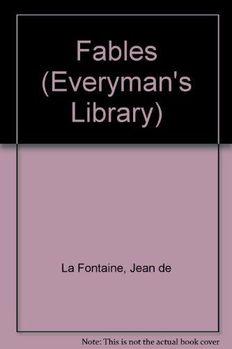 9780460009911: Fables (Everyman's Library)